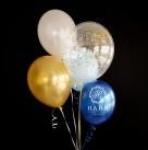 Сет из воздушных шаров «Blue Diamond»