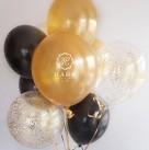 Сет из воздушных шаров «Golden Eye»