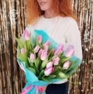 Букет с тюльпанами «Верона»