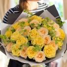 Букет из роз «Солнечное утро»