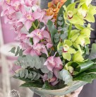 Букет с орхидеей «Эдем»