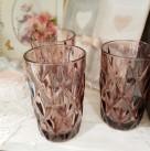 Стакан для воды розовый «Марсель»