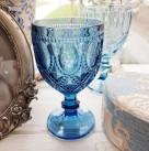 Бокал для вина синий «Венеция»