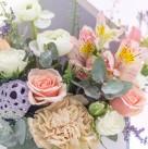 Цветочное письмо «Je t'aime»