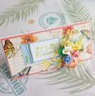 Поздравительный конверт «С днём рождения»