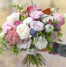 Свадебный букет «Осенняя нега»
