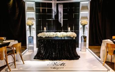 Стильная чёрно-белая свадьба Константина & Марии 2016 год